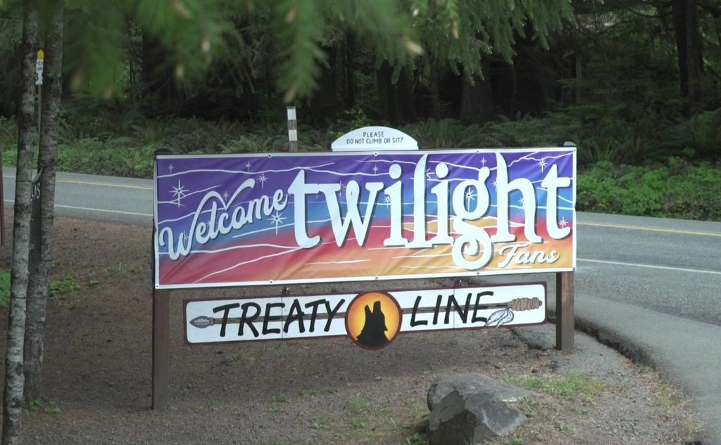 Twilight Forks La Push treaty line