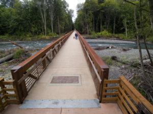 Railroad Bridge Park in Sequim on the Olympic Peninsula