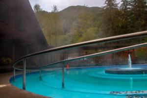 Sol Duc Hot Springs on the Olympic Peninsula, WA